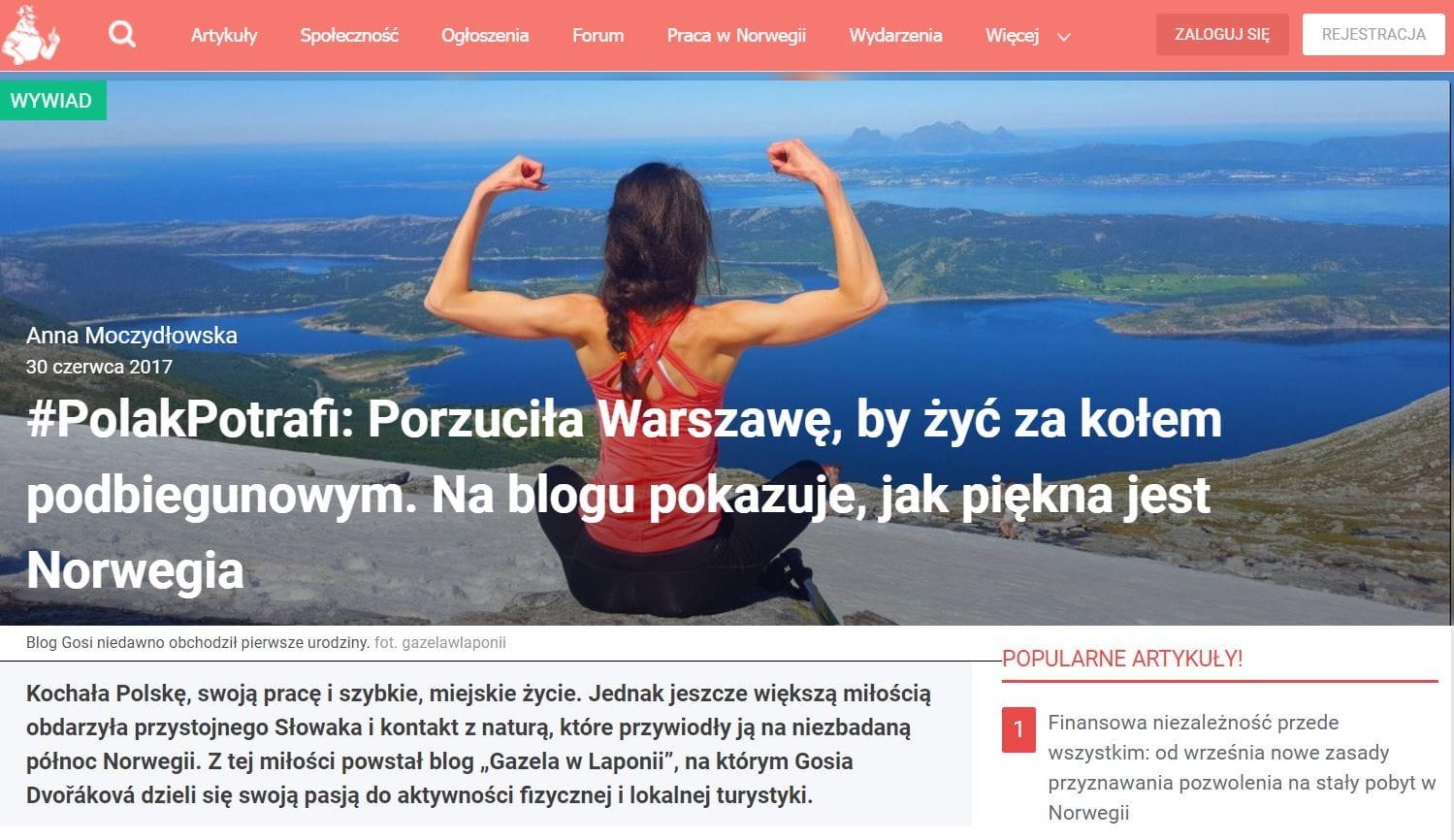 MojaNorwegia.pl: #PolakPotrafi