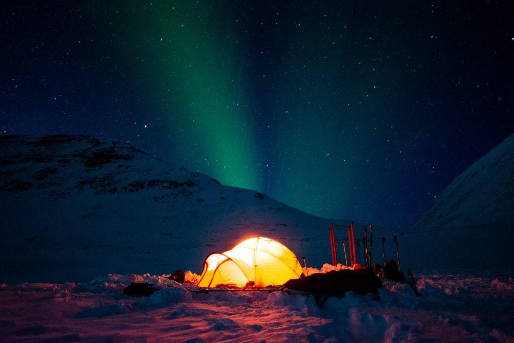 zorza polarna, bodø northern lights