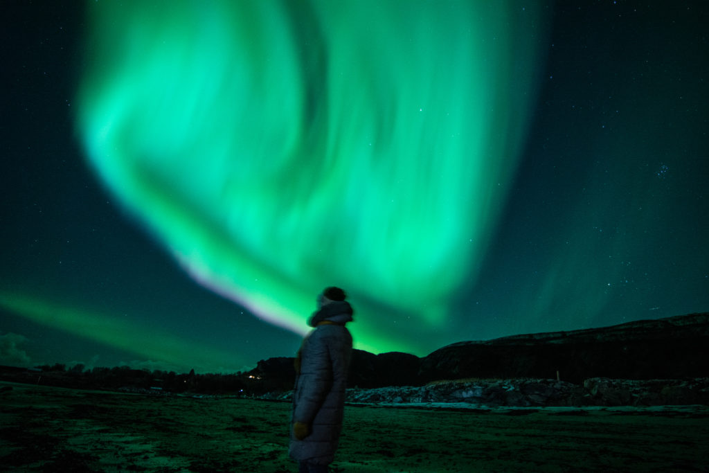 zorza polarna, bodø aurora borealis